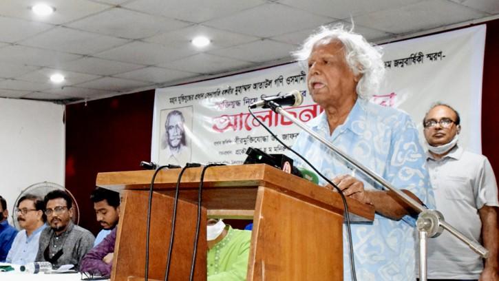 'জাতীয় সরকার' গঠনে যাদের নাম প্রস্তাব করলেন ডা. জাফরুল্লাহ