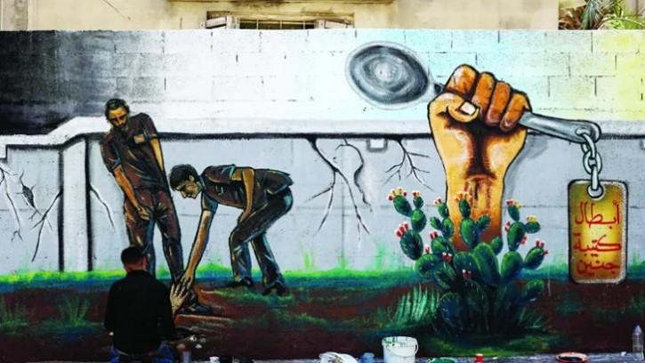 এবার ফিলিস্তিনিদের প্রতিবাদের নতুন প্রতীক 'চামচ'